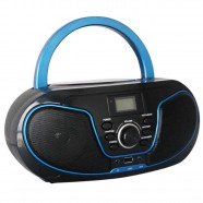 Imagem - Rádio Bluelife Boombox Bluetooth 3.0 USB SD AUX CD Leadership Bivolt/Pilhas 1471 cód: CS1204711020305321