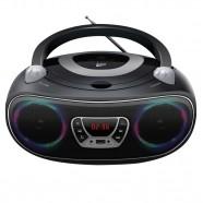 Imagem - Caixa de Som Colors Boombox Leadership Bluetooth USB/SD/AUX Radio FM/CD Bivolt/Pilhas 1472 cód: CS1304711020305121