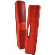 Caixa de Som Sound Box 215 BT Frahm USB/SD Radio FM c/ Bateria Interna Vermelha