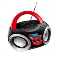 Caixa de Som Boombox Lenoxx 4W Rms USB/SD/AUX Radio FM Bluetooth Bivolt BD110A