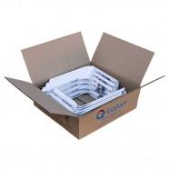 Imagem - Caixa 16 Pares Suporte Split Gallant 500mm Barril Estampado Branco cód: CX02000020782