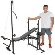 Estação de Musculação com Torre e Crucifixo até 70kg Polimet