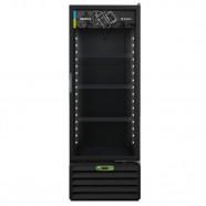 Imagem - Expositor Vertical Metalfrio 406L 1 Porta Preto 220V VB40RH cód: EXP1590017522030101