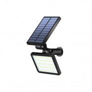 Luminária Solar Jardim Led Sensor Presença Fotocélula Helius