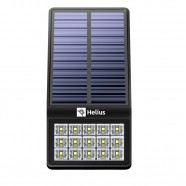 Luminária Solar Led Sensor Presença Fotocélula Helius HLF500