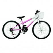 Imagem - Bicicleta Aro 24 Serena Plus 21 Marchas Master Bike cód: MKP000024000019