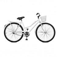 Imagem - Bicicleta Feminina Kamilla Contrapedal Aro 26 Branca Master Bike cód: MKP000024000036