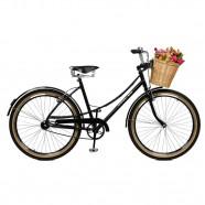 Imagem - Bicicleta Master Bike Aro 26 Feminina Bella Retro Preto cód: MKP000024000098