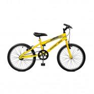 Imagem - Bicicleta Aro 20 masculina Ciclone Amarelo Master Bike cód: MKP000024000125