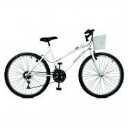 Imagem - Bicicleta Serena Plus Aro 26 21 Marchas Branca Master Bike cód: MKP000024000131