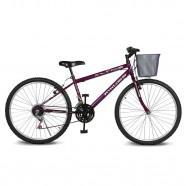 Imagem - Bicicleta Aro 26 Magie 21v Violeta Kyklos cód: MKP000024000201