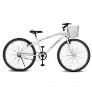 Imagem - Bicicleta Aro 26 Magie sem Marchas Branca Kyklos cód: MKP000024000203