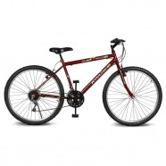 Imagem - Bicicleta Aro 26 Move 21V Vermelho Kyklos cód: MKP000024000209