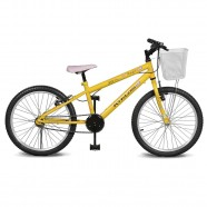 Imagem - Bicicleta Aro 20 Magie Sem Marchas Amarelo Kyklos cód: MKP000024000231