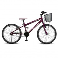 Imagem - Bicicleta Aro 20 Magie Sem Marchas Violeta Kyklos cód: MKP000024000234