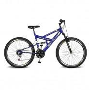 Imagem - Bicicleta Aro 26 Caballu 7.5 21V A-36 Azul Kyklos cód: MKP000024000267
