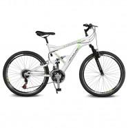Imagem - Bicicleta Aro 26 Caballu 7.8 Branco/Verde Kyklos cód: MKP000024000292