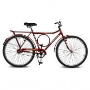 Imagem - Bicicleta Aro 26 Circular 5.9 Contrapedal Vermelho Kyklos cód: MKP000024000318