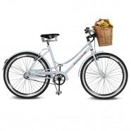 Imagem - Bicicleta Aro 26 Jolie 2.0 Branco Azulado Kyklos cód: MKP000024000320