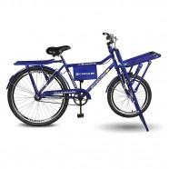 Imagem - Bicicleta Aro 26 Cargo 4.5 Freio Manual A-36 Azul Kyklos cód: MKP000024000329