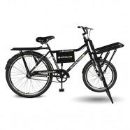 Imagem - Bicicleta Aro 26 Cargo 4.5 Freio Manual A-36 Preto Kyklos cód: MKP000024000330