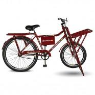 Imagem - Bicicleta Aro 26 Cargo 4.5 Freio Manual A-36 Vermelho Kyklos cód: MKP000024000331