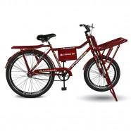 Imagem - Bicicleta Aro 26 Cargo 4.7 A-36 V-brake Vermelho Kyklos cód: MKP000024000334