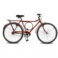 Imagem - Bicicleta Aro 26 Circular 5.7 Freio Manual Vermelho Kyklos cód: MKP000024000388