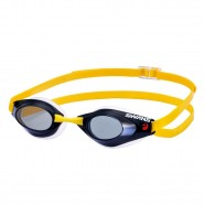Imagem - Óculos para Natação SR-71N Fumê com Amarelo Swans cód: MKP000026000447