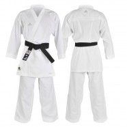 Imagem - Kimono Karatê Kumite FighterWKF Tamanho 155 Branco Adidas cód: MKP000026000632