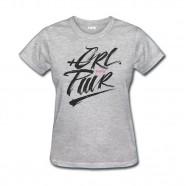 Imagem - Camiseta Girl Power Feminina Cinza Mescla P MKS Combat cód: MKP000026000660