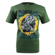 Imagem - Camiseta Nations Brazilian Jiu Jitsu Verde M MKS Combat cód: MKP000026000671