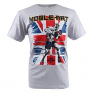 Camiseta Nations Noble Art Mescla Cinza Gelo M Mks Combat