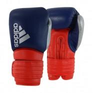 Luva de Boxe Hybrid 300 Azul/Vermelho 10Oz Adidas