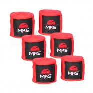 Imagem - Kit com 3 Pares de Bandagens Mks Combat cód: MKP000026001443
