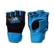 Imagem - Luva MMA Tradicional Preta/azul Adidas cód: MKP000026001494