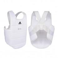 Imagem - Protetor de Tórax Adidas Wkf Branco Logo Preto M cód: MKP000026002581