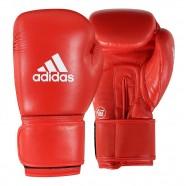 Imagem - Luva de Boxe Adidas Aiba Approved Couro Vermelha 10 Oz cód: MKP000026002681