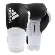 Imagem - Luva de Boxe Muay Thai Hybrid 300 Preto e Branco 2.0 10 Oz cód: MKP000026002702