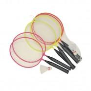 Kit Mini Raquetes Badminton Laranja - Winmax