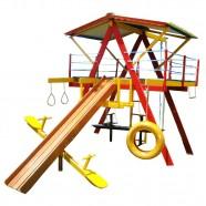 Imagem - Playground de Madeira 12 Brinquedos Médio Mundo Da Criança cód: MKP000054000005