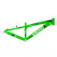 Imagem - Quadro Alumínio Dirt Jump Aro 26 Verde Neon VikingX TUFF25 cód: MKP000163000008