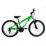 Imagem - Bicicleta MTB Freeride Aro 26 21V Verde Neon Viking X TUFF25 cód: MKP000163000013