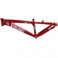 Imagem - Quadro Alumínio Dirt Jump Aro 26 Vermelho VikingX TUFF25 cód: MKP000163000022