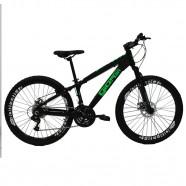 Imagem - Bicicleta Aro 26 Gios FRX Freeride 21V Preto/Verde cód: MKP000163000047