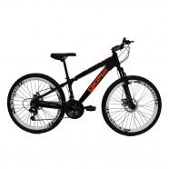 Bicicleta Aro 26 Preto/Laranja 21 Vel Gios FRX Freeride