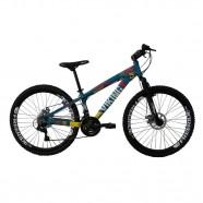 Imagem - Bicicleta Tuff25 Freeride Aro 26 AZ/AM 21 Vel VikingX cód: MKP000163000071