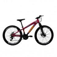 Imagem - Bicicleta Freeride Aro 26 Freio a Disco 21 Vel. VikingX cód: MKP000163000073
