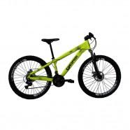 Imagem - Bicicleta Aro 26 21 Velocidades Freeride Amarelo Neon Gios cód: MKP000163000091