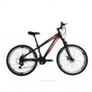 Imagem - Bicicleta Aro 26 21 Marchas Preto Laranja Gios FRX Freeride cód: MKP000163000172